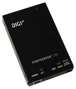 Digi PortServer TS 1 port RS-232 RJ-45 Serial to Ethernet Device Server, 9-30VDC Image