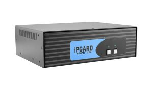 IPGARD 2-Port Dual-head Secure DVI-I KVM Switch with KB/Mouse USB emulation Image