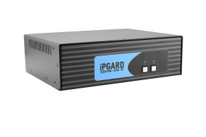 IPGARD 2-Port Dual-head Secure Pro DVI-I KVM Switch with KB/Mouse USB emulation and CAC port Image