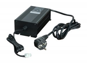AC Power Supply - 18VDC, Extended Temp. EU AC cord to 4-pin connector. Compatibility: WR44. Image