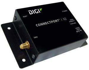 ConnectPort X2 - XBee (ZigBee) to Ethernet. Industrial enclosure. International. Image
